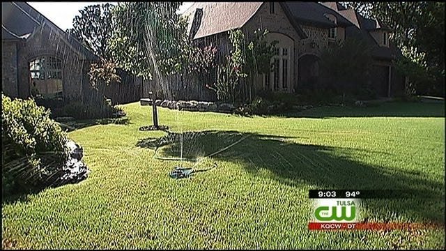 Oklahoma Lawns Take A Beating In The Summer Heat