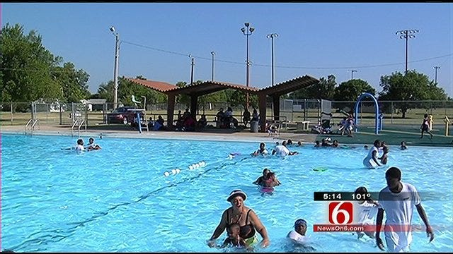 Red Cross Provides Free Swimming Lessons To Tulsa Area Kids