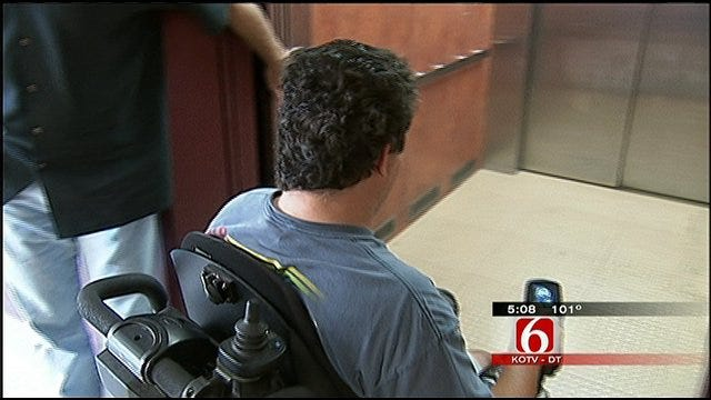 Wheelchair Bound Tulsa Man Robbed At Knifepoint