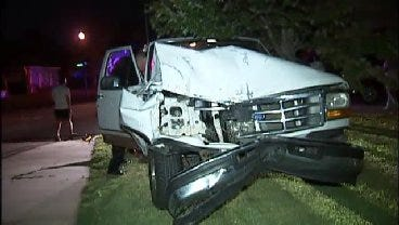 WEB EXTRA: Video From Scene Of Tulsa Pickup Truck Crashes