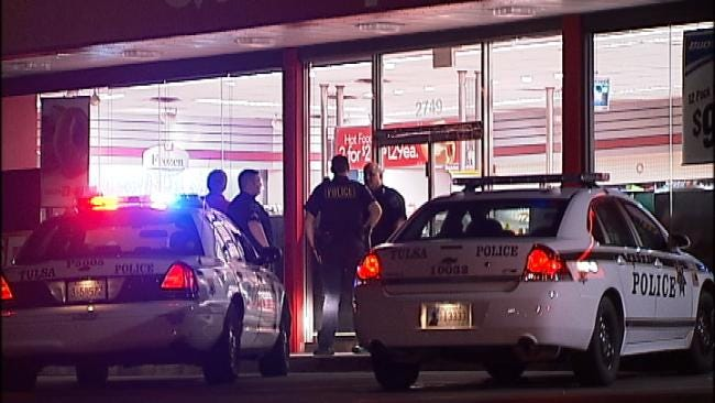 WEB EXTRA: Video Of The Scene At East Tulsa QuikTrip Robbery