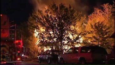WEB EXTRA: Video From Scene Of 2nd And Rockford House Fire