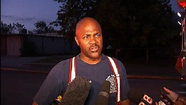 WEB EXTRA: Tulsa Firefighter Tim Smallwood Talks About The Two House Fires