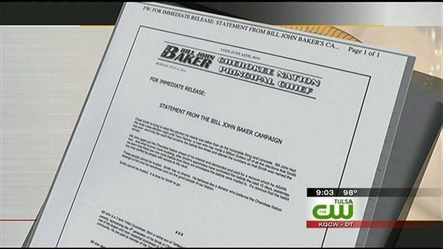 Baker, Smith Exchange War Of Words Over Cherokee Chief Election