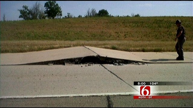 Heat-Buckled Highway Blamed For Pawnee County Crash