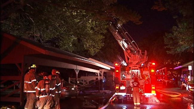 WEB EXTRA: Video From Scene Of 77th And Yale Apartment Fire