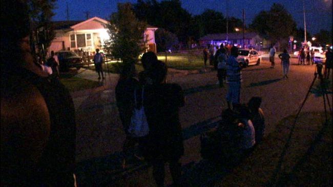 WEB EXTRA: Tulsa Police Investigate Deadly Double Shooting