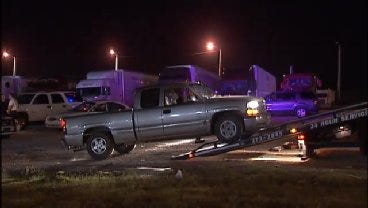 WEB EXTRA: Video From Scene Of Catoosa Police Traffic Stop