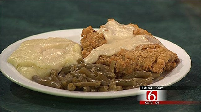 Nelson's Ranch House Buffeteria Signature Chicken Fried Steak
