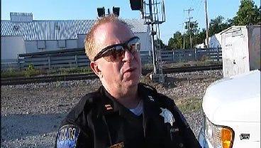 WEB EXTRA: Tulsa Police Captain Steve Odom Talks About Body Found