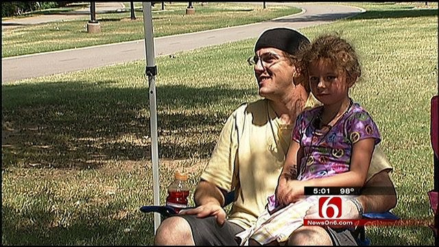 Tulsa Celebrates The 4th Of July Along The River