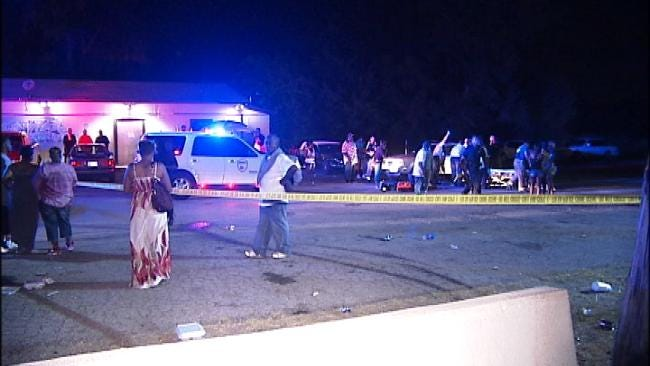 WEB EXTRA: Two Injured By Gunfire Outside Tulsa Sports Bar