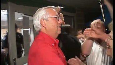 WEB EXTRA: Bill John Baker, Supporters React To Recount Win