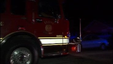 WEB EXTRA: Video From Scene Of Accidental Shooting Early Wednesday