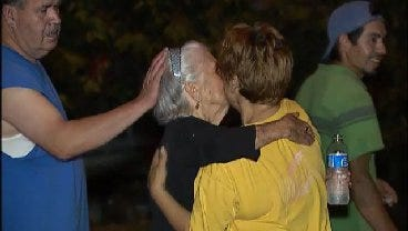 WEB EXTRA: Missing Elderly Woman Reunites With Her Family