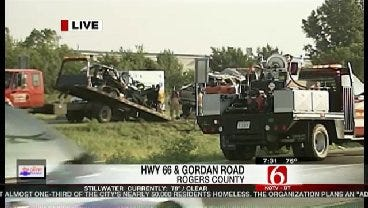 Two Killed In Rogers County Traffic Crash
