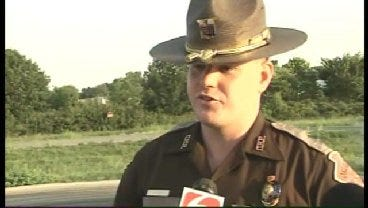 WEB EXTRA: Oklahoma Highway Patrol Trooper Andy Floyd Talks About Double Fatal
