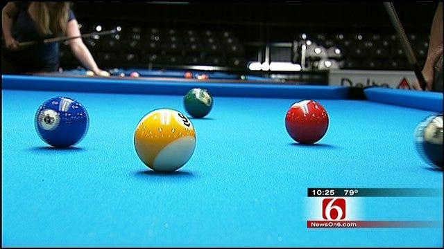 Professional Pool Players Head to Tulsa