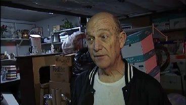 WEB EXTRA: Broken Arrow Homeowner Terry Mason Talks About Lightning Strike