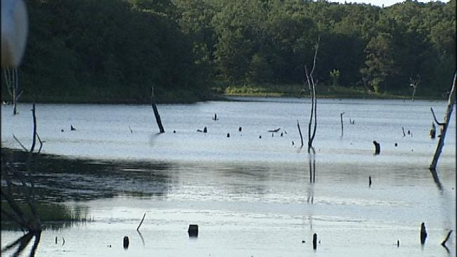 WEB EXTRA: Video Of Prague Lake in Lincoln County