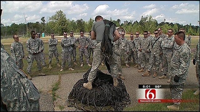 Oklahoma Soldiers Begin Deployment To Afghanistan