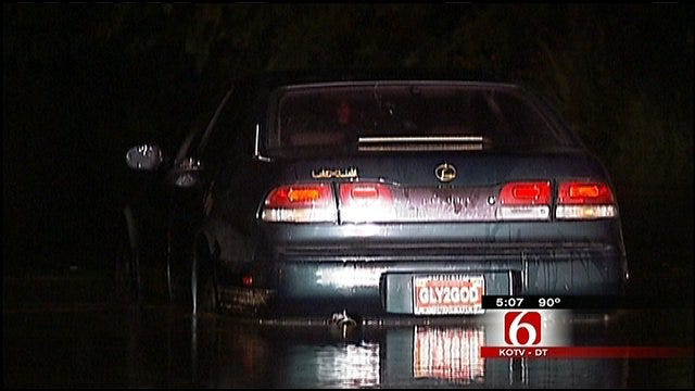 Driving Around Barricades On Flooded Roads In Oklahoma Could Cost You