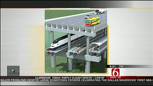 I-244 Bridge Closure Just South Of Downtown Tulsa Prompts Lane Changes