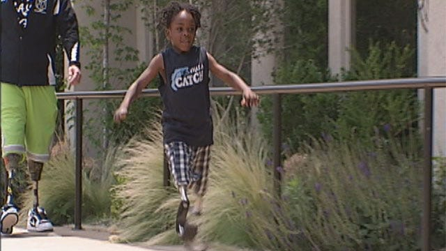 Young Oklahoma Athlete, Meningitis Victim Could Steal Show At Endeavor Games