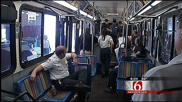 Partnership Turns Tulsa Transit Bus Into Ambulance
