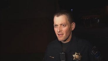 WEB EXTRA: Tulsa Police Sgt. Brian Carlisle Talks About 31st And Harvard Crash