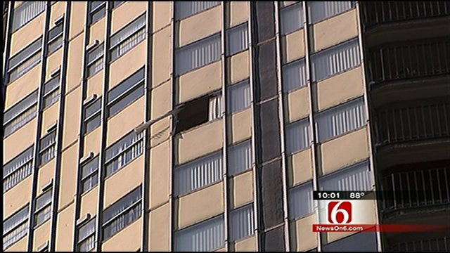 Wife Arrested After Tulsa Man Falls To His Death From 25th Floor Apartment