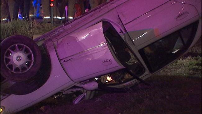 WEB EXTRA: Video From Scene Of East Admiral Crash Late Sunday