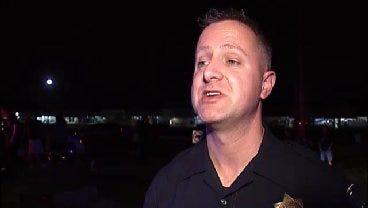 WEB EXTRA: Tulsa Police Cpl. Brett Bilyeu Talks About East Admiral Crash