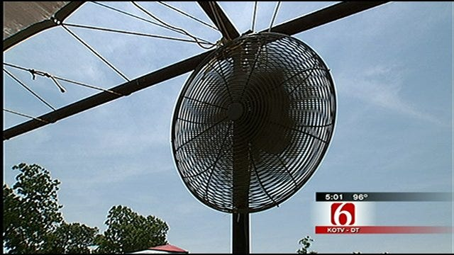 Unseasonably Hot Weather Grips Green Country