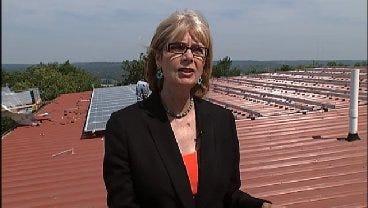 WEB EXTRA: Tulsa County Commissioner Karen Keith Talks Solar Power