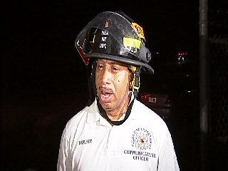 WEB EXTRA: Tulsa Firefighter Gerry Tarver Talks About Airport Hangar Fire