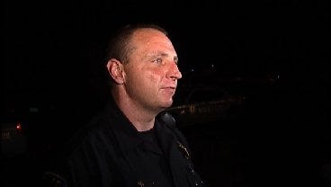 WEB EXTRA: Tulsa Police Sgt. Matt McCord Talks About Robbery Shooting