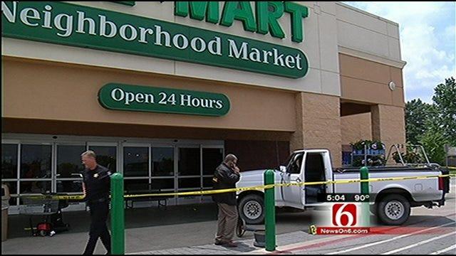 Family Shaken Up After Shots Fired Inside Tulsa Walmart