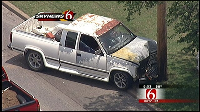 Driver, Gunman Dead After Tulsa Chase And Carjackings