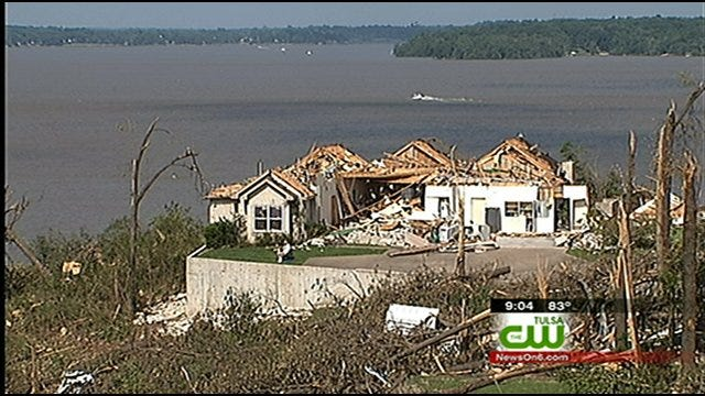 Many Spent Memorial Day Cleaning Up Grand Lake After Tornado