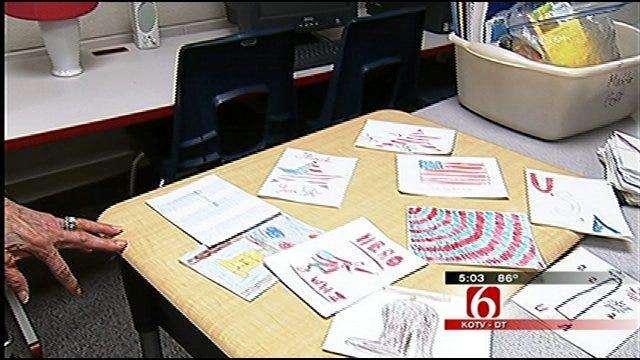 Tulsa Fifth Graders Say Thank-You To World War II Vets