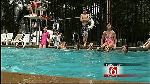 Community Pool In Tulsa Reopens After Renovation