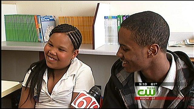 Kids, Mentors Benefit From Tulsa After-School Program