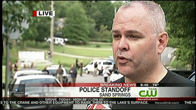 Sand Springs Standoff Ends Peacefully, Hostages Released