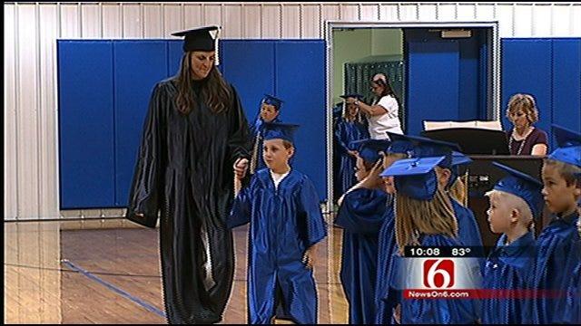 Oklahoma Mom, Son Celebrate Graduation Together