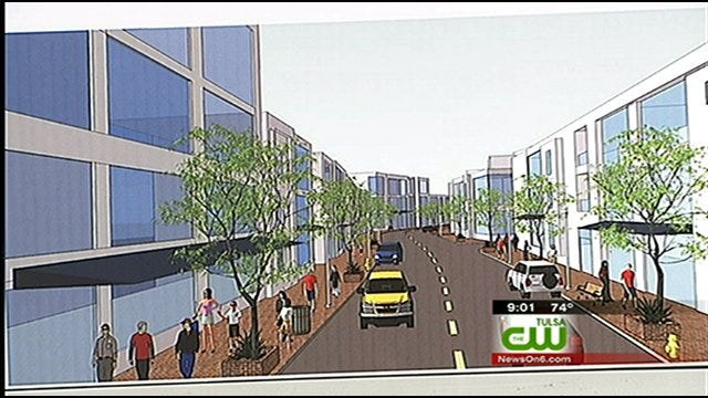 Plan Would Revitalize North Tulsa Shopping Center
