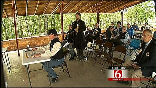 Sons Of Civil War Vets Honored At Pawnee Ceremony