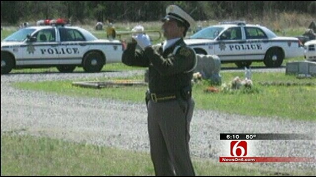 Tulsa Police Honor Guard Marks 40 Years Of Service