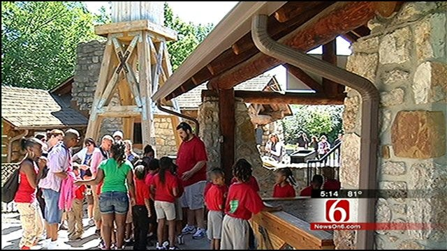 Kids Hunt For Hidden Treasures At Tulsa Zoo's Archaeological Dig