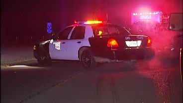 WEB EXTRA: Video From Scene Of Fatal One Vehicle Crash